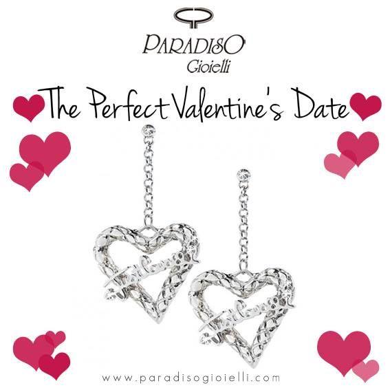 #JustCavalli #Orecchini #Donna   The Perfect Valentine's Date   Disponibili nel nostro #store #online  #Cuori #Love #Amore #SanValentino #Regalo