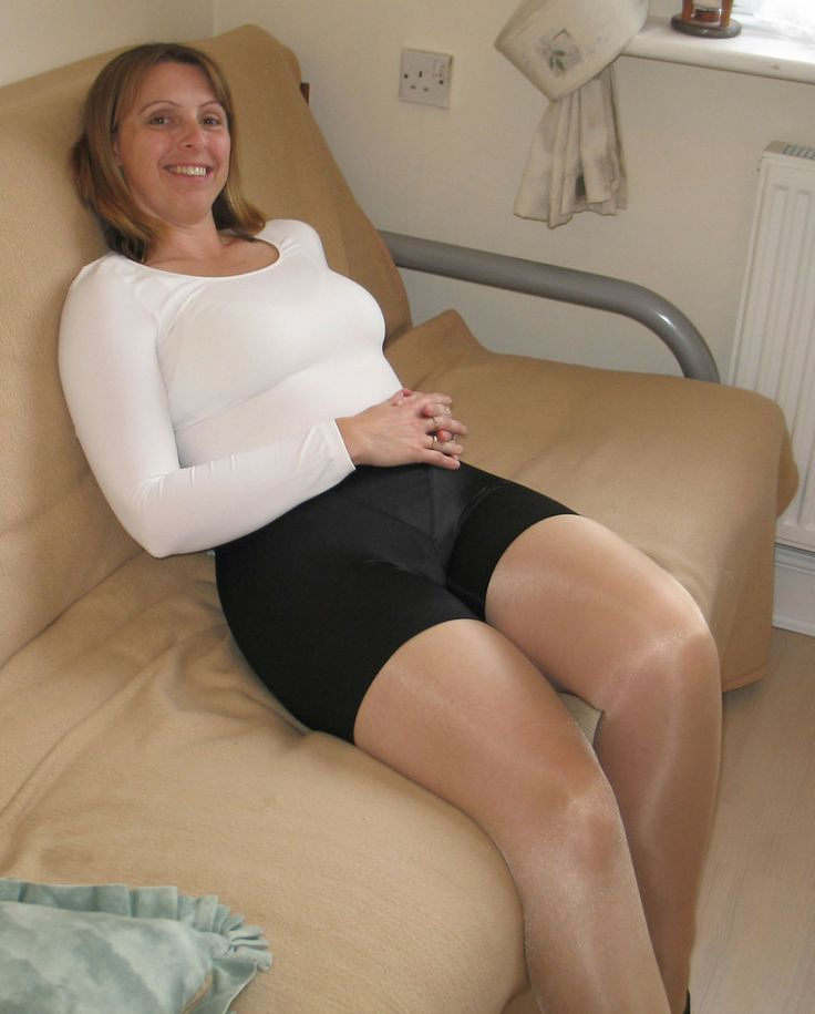 And in mature women nylons girdles