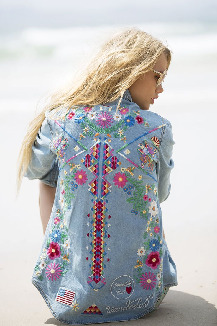 "Emma Stern Nielsen stars in Byron Bay based women's fashion brand Spell & The Gypsy Collective's boho lookbook ""Gypsiana"" photographed by Jennifer Stenglein"