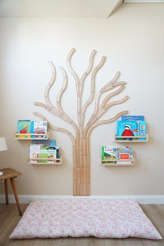 Warum sollte man Kleinkindern vorlesen? Kinderzimmer Leseecke Ideen