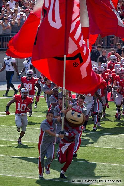 Game Day!!! The Ohio State University Buckeyes!