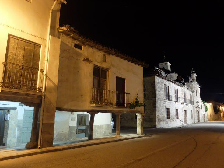 La calle Mayor y el Palacio de los Lopez-Cogolludo. 6/2016