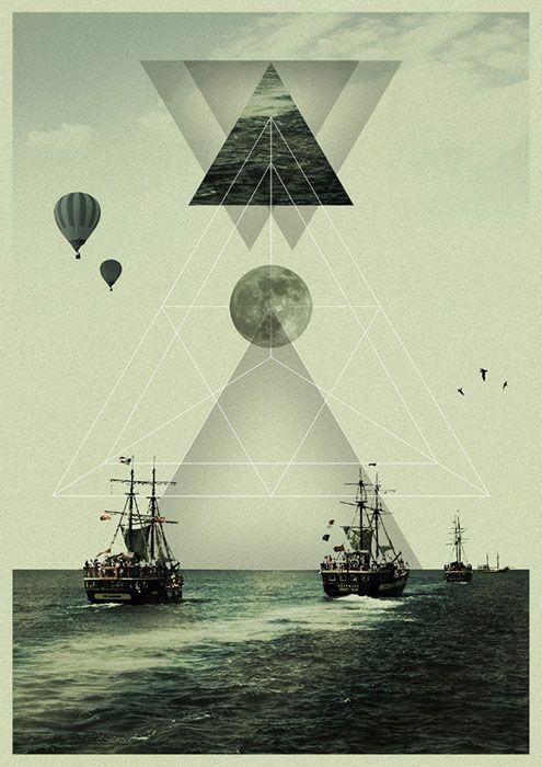 ✖KØNSTRUKTIVIST✖ (davidcristian: Bermuda Triangle by Victor Eide)