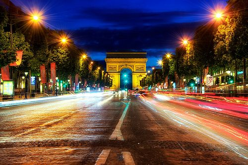 Champs+Elysees,+Paris+-+This+avenue+is+the+most+vivid+place+in+Paris,+with+excellentrestaurants,+theaters,+and+luxury+boutiques+at+every+turn.