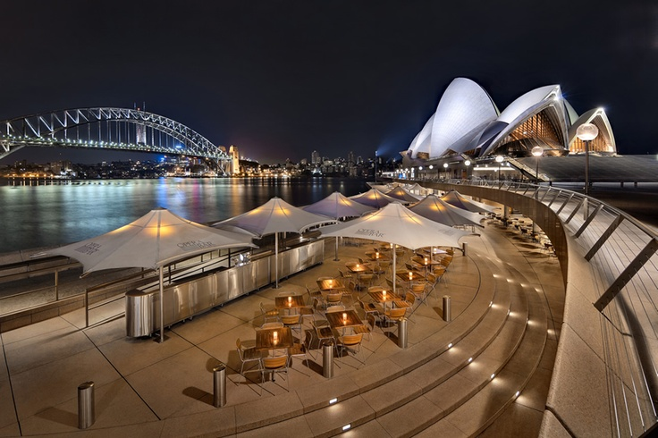 Opera Bar. The best view of Sydney ever and the perfect place to spend a warm evening.