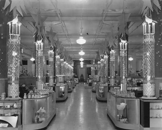 17 best images about images of department stores from the for Antique shops in los angeles