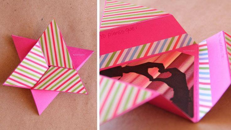 No todas las tarjetas deben de ser cuadradas, checa cómo se logra una tarjeta en forma de estrella