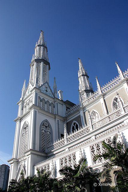 Iglesia Del Carmen, Panama City, Panama.