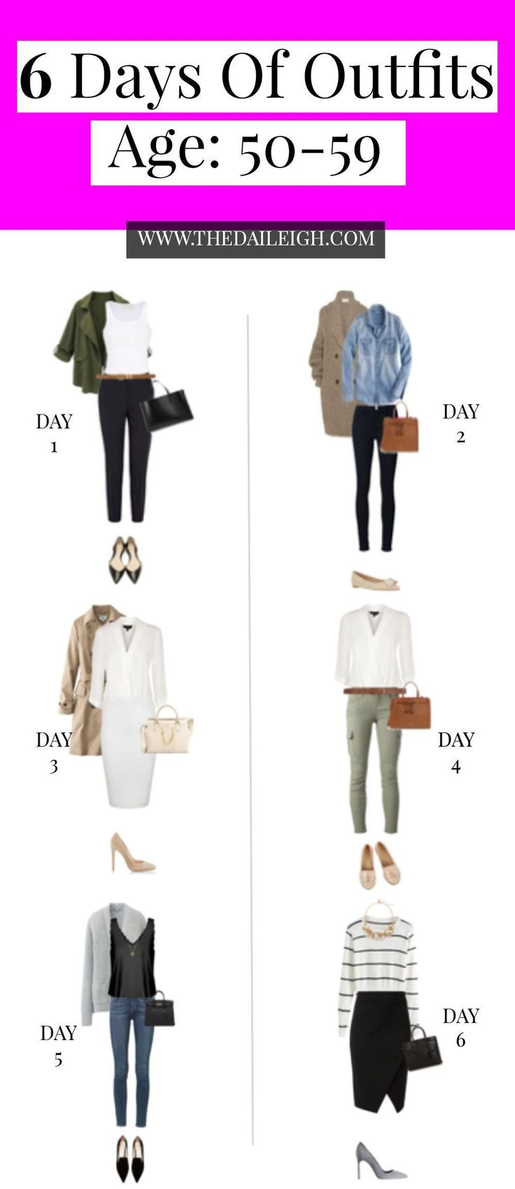 Outfit Ideas for Women Over 50 | Fashion Tips for Women Over 50 | Wardrobe Basics