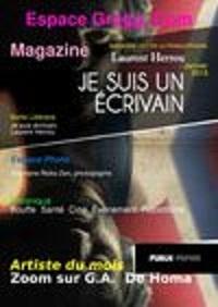 La Une du premier magazine d'Espace Gregg... édition en linge, en janvier 2013