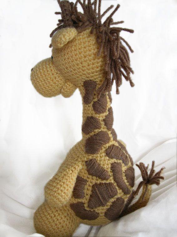 Jirafa Crochet Pinterest