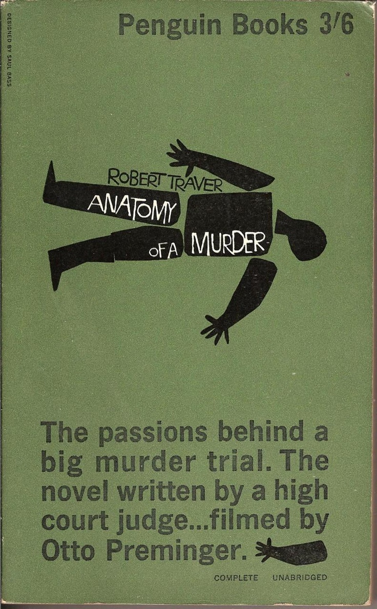 Saul Bass penguin cover #books