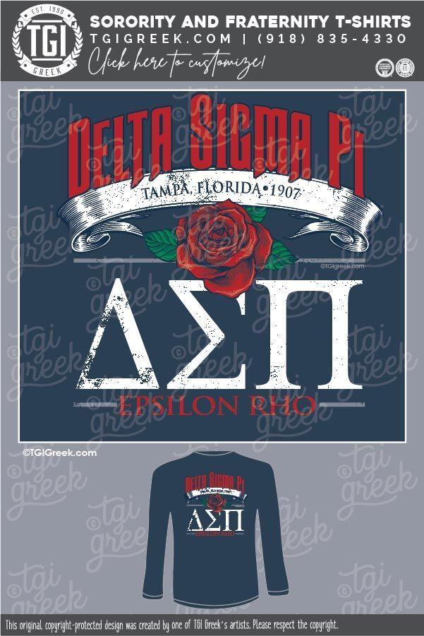 Delta Sigma Pi Shirts By Tgi Greek Sorority Apparel Sorority