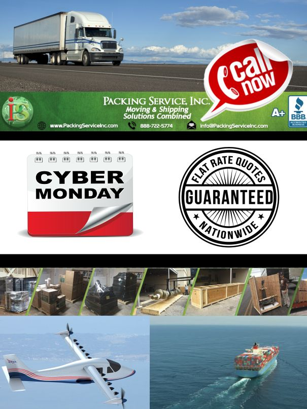 Let Packing Service, Inc. Pack And Load Your Pods Containers Or Rental  Truck To Avoid Moving Company Scams. Call For Guaranteed Flat Rate Quotes  For ...