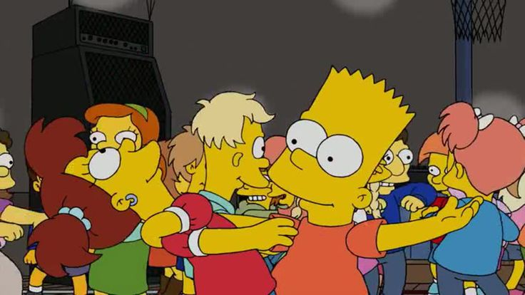 """Watch Daft Punk's """"Get Lucky"""" Soundtrack a Scene From 'The Simpsons'"""