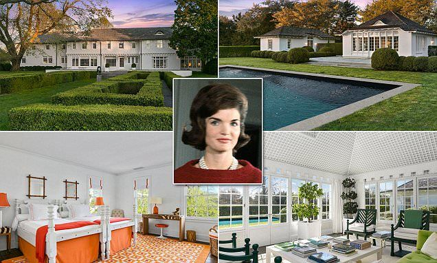 Jackie Kennedy's childhood East Hampton estate hits the market