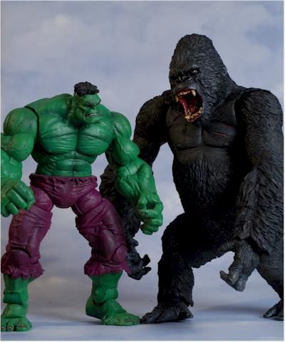 King Kong action figure - Another Toy Review by Michael ...