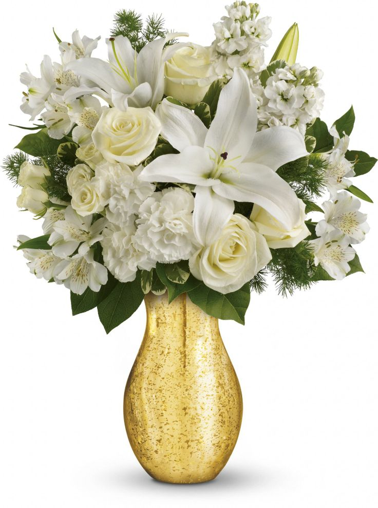 Images about th anniversary floral ideas on