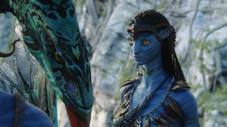 Neytiri with her Banshee