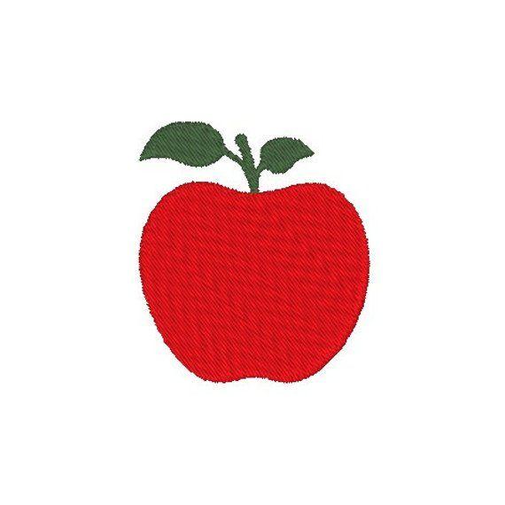 Mini Apple Small Apple Embroidery Machine Embroidery Design Apple