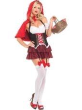 Adult Ravishing Red Riding Hood Costume-Clearance Costumes-Womens Costumes-Halloween Costumes-Party City