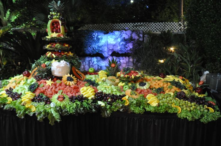 Receptions Food Displays And Prime Time On Pinterest: Wedding Receptions Foods Displays