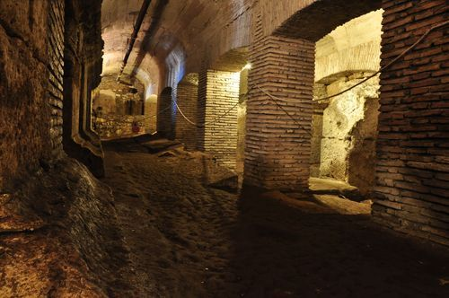 Underground in Rome with kids