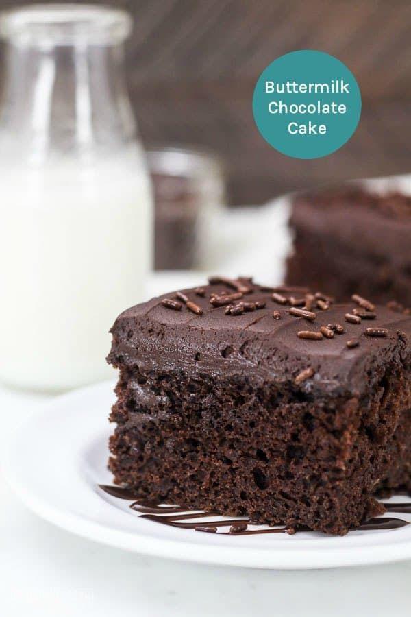 Buttermilk Chocolate Cake Recipe Buttermilk Chocolate Cake Super Moist Chocolate Cake Moist Chocolate Cake
