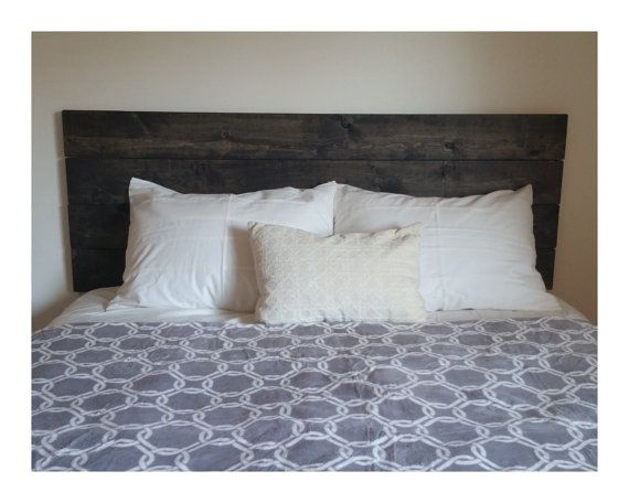 Cal King Headboard  Bedroom Furniture  Wood by MaverickIndustrial