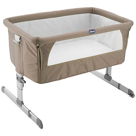 Buy Chicco Next To Me Crib, Dove Online at johnlewis.com