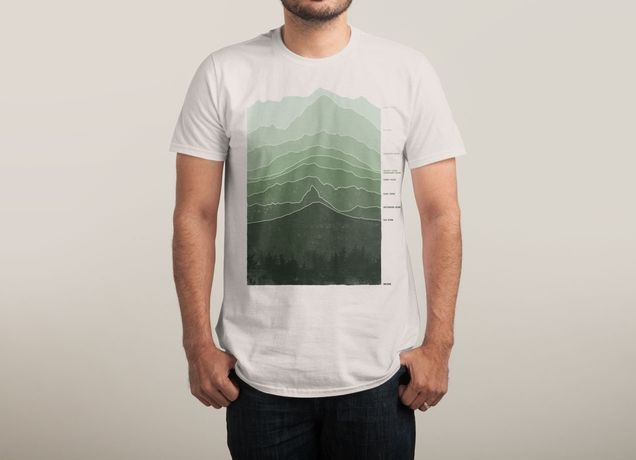 """Above Sea Level"" by arzie13 on men's t-shirts 