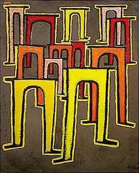Viaducts by Paul Klee for Sale - New Zealand Art Prints
