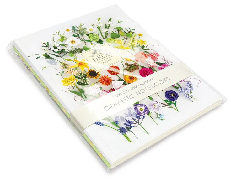 DECO Crafters Notebooks | DECO Clay Craft Academy Online Shop