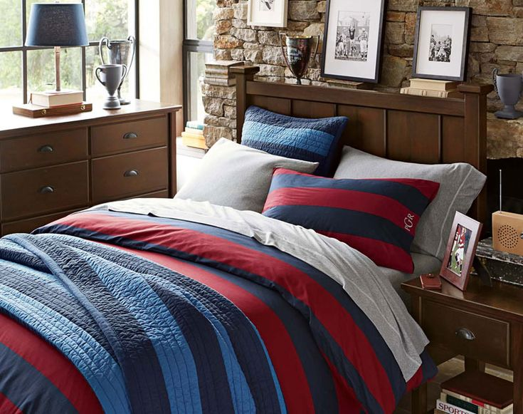 teenage guys bedroom ideas rugby pbteen - Bedroom Ideas Guys
