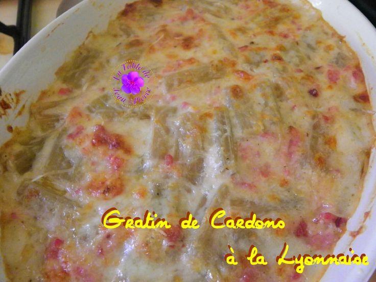 Gratin de Cardons à la Lyonnaise