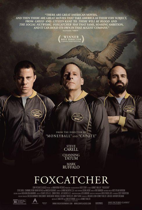 """Foxcatcher"". Tatum's blandness and gorilla-like presence work to his advantage in this quiet, bleak film"