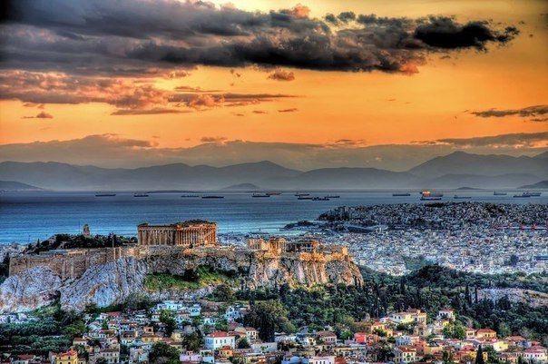 Теплый денек в Афинах, Греция