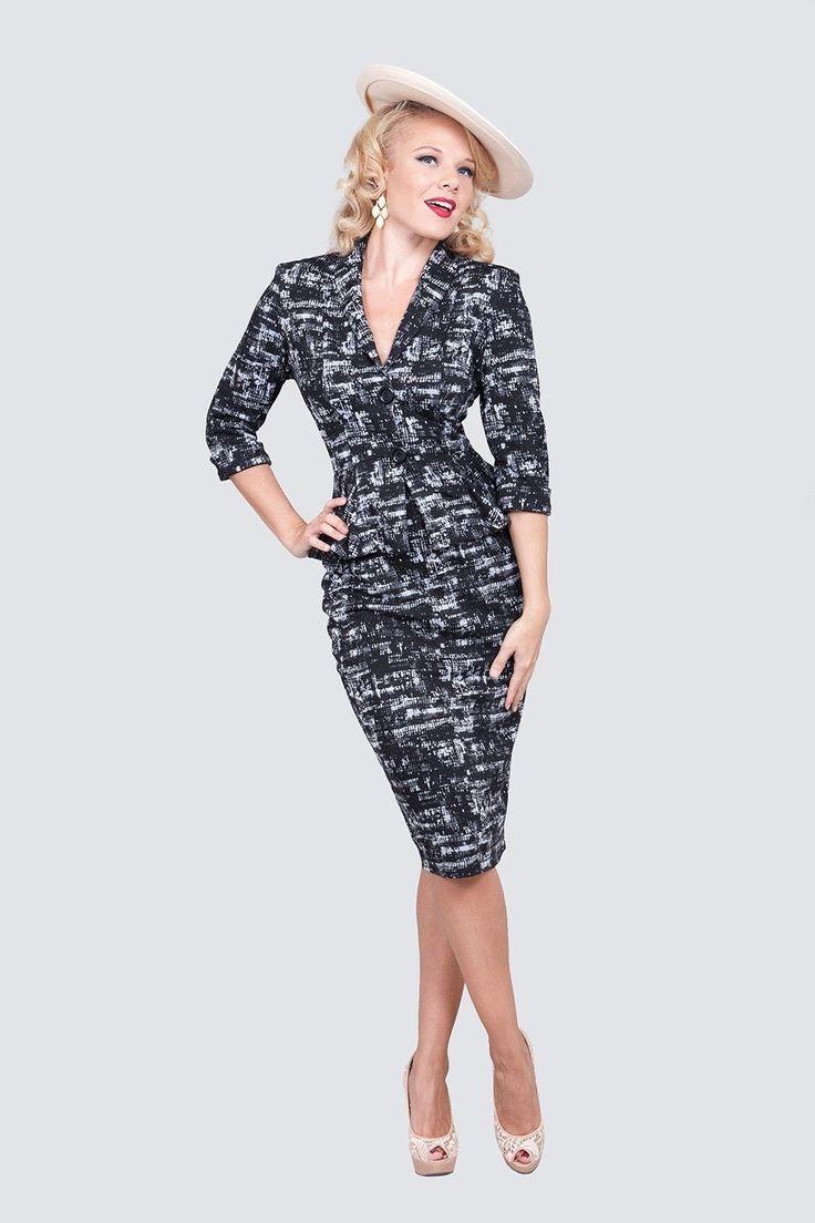 Tatyana Boutique Manhattan Wiggle Skirt