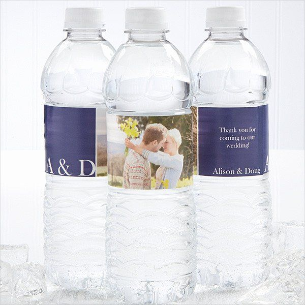 Water Bottle Label Template Lovely 13 Water Bottle Label Templates Psd Custom Water Bottle Labels Water Bottle Labels Wedding Personalized Water Bottle Labels
