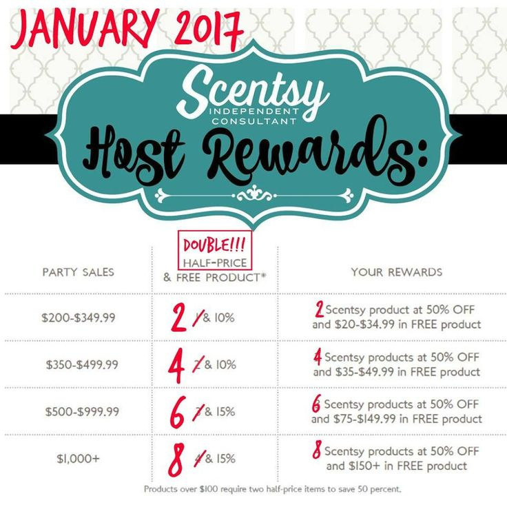 January is a great time to host a Scentsy party! https://casies.scentsy.us/host/scentsy-parties #hostrewards #fun #party #rewards