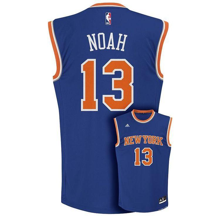 0204d1c0617 ... Mens Adidas New York Knicks Joakim Noah NBA Replica Jersey