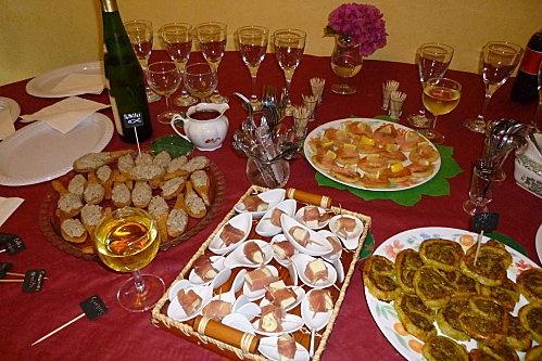 Buffet dinatoire repas pinterest - Idee deco buffet froid ...