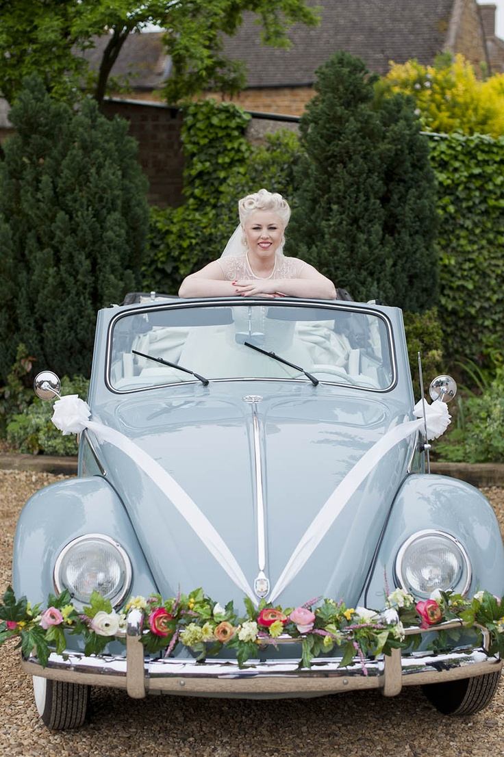 Wedding vehicle decorations   best a Spring Wedding CoLoRs images on Pinterest  Bridal
