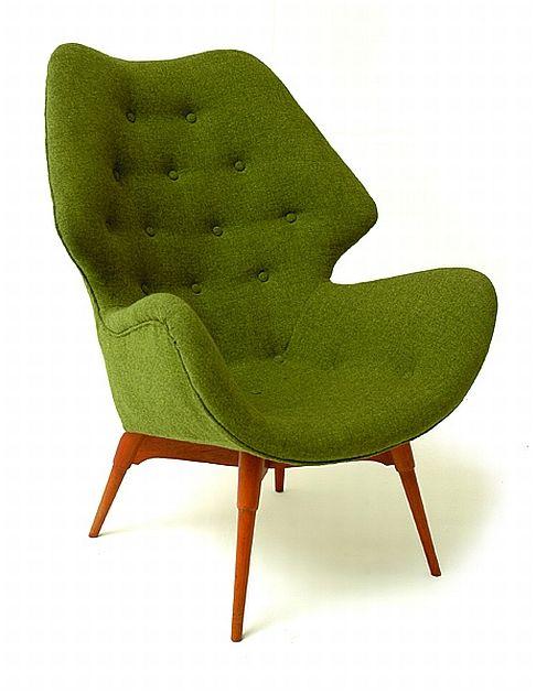 Grant Featherston,  B230 Contour Chair, c1953.