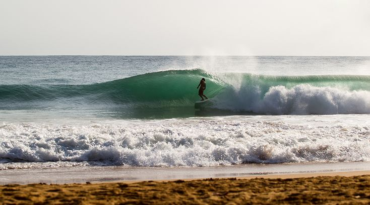 A TRIP LESS ORDINARY   SURFLINE.COM Derrick Disney's shorebreak barrel. See more Panamanian pandemonium: http://www.surfline.com/surf-news/a-trip-less-ordinary_108405/ Photo: Billy Watts