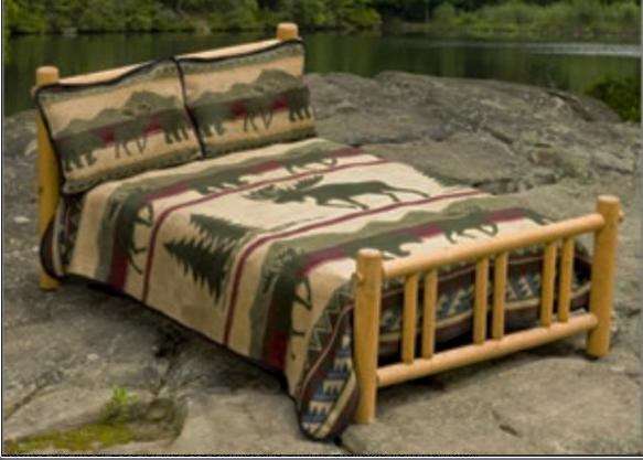 Cabin And Lodge Blankets From Quot Earth Ragz Quot By Ramatex Come