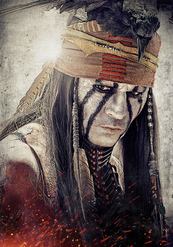Johnny Depp as Tonto in 'The Lone Ranger'