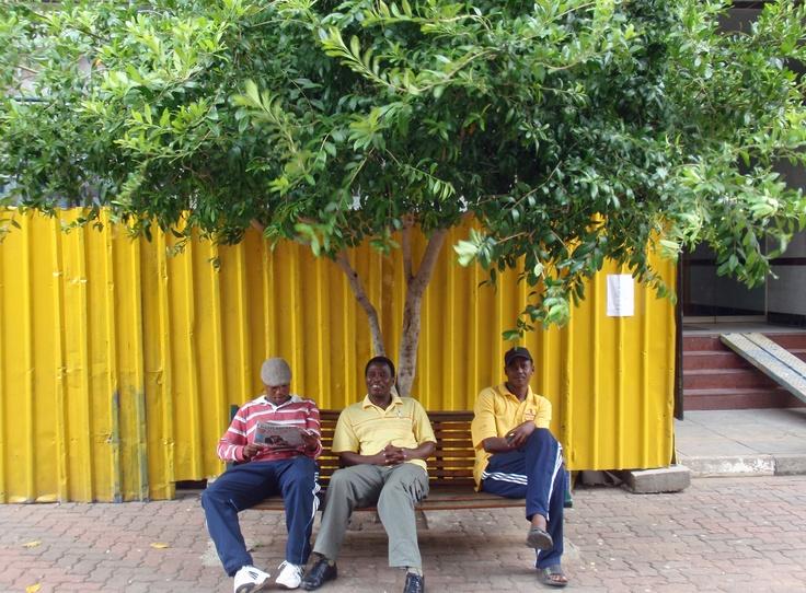 On a sunny day in Gaborone #travel #Botswana #smileshare