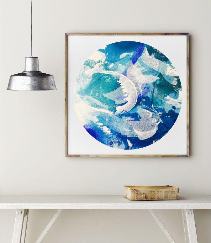 Cosmic Beach Print by Maggi McDonald