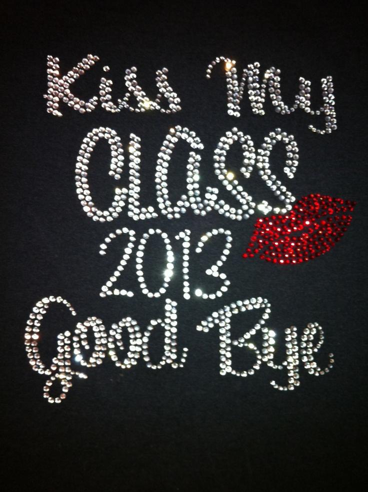 Class of 2013 Bling Shirt. $26.00, via Etsy.